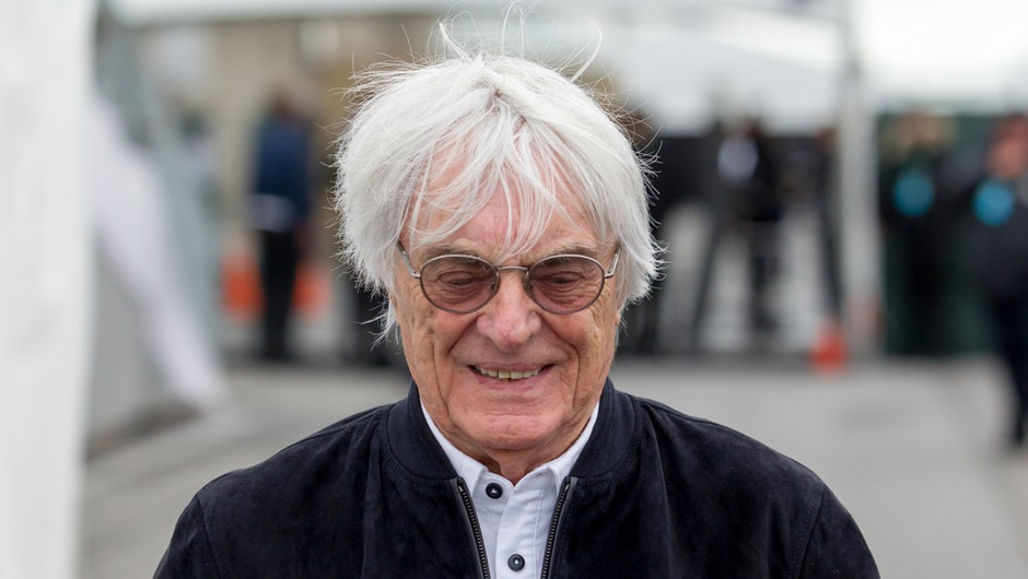 Nekoč prvi mož formule 1 Ecclestone pri 89 letih dobil prvega sina (foto: Shutterstock)