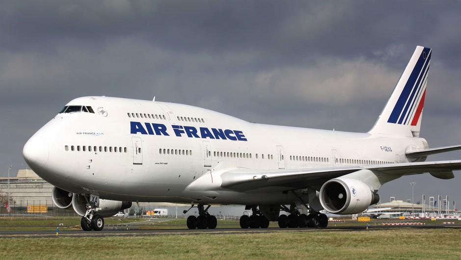 Air France bo število zaposlenih zmanjšal za skoraj 7600 (foto: Shutterstock)
