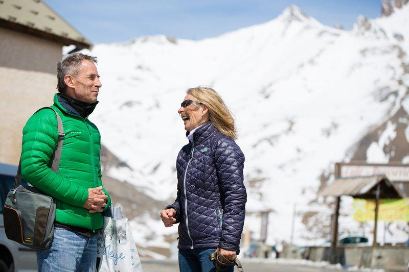 Voytek Kurtyka in Bernadette McDonald, avtorica njegove knjige