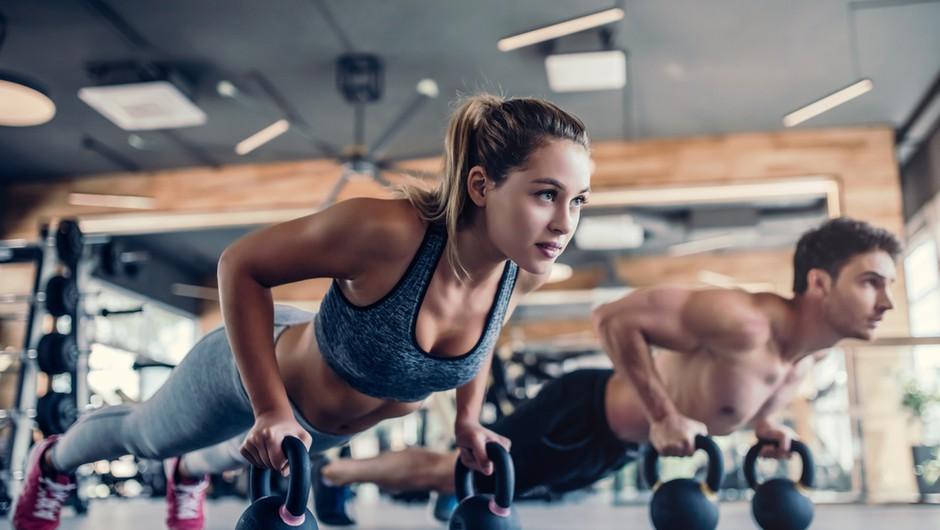 Fitnesi ne predstavljajo dodatnega tveganja za okužbo s COVID-19 (foto: Shutterstock)