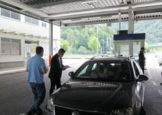 Na slovenskih mejnih prehodih v soboto vročili 338 in v nedeljo 435 odločb o karanteni
