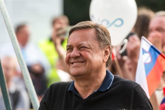 Ljubljanski župan Zoran Janković v karanteni