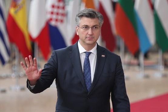 Plenković: Prvi premierski mandat je bil težek, a bodo izzivi verjetno še večji