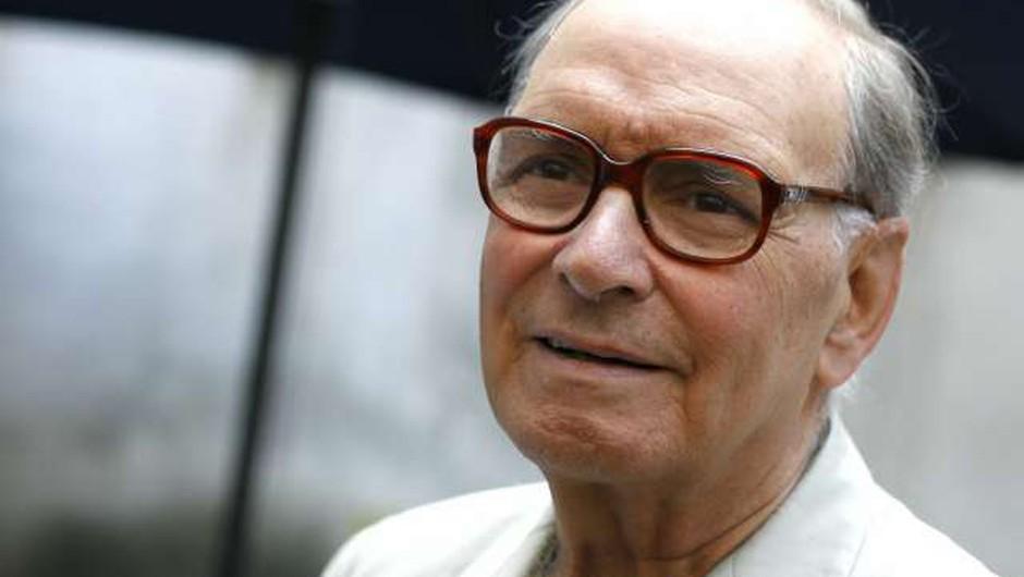 V 92. letu se je poslovil velikan filmske glasbe Ennio Morricone (foto: Domen Grögl/STA)
