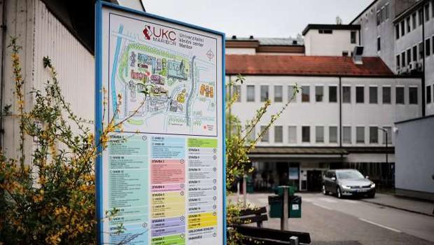 V UKC Maribor so iz preventivnih razlogov ustavili izvajanje pedagoškega procesa (foto: Daniel Novakovič/STA)
