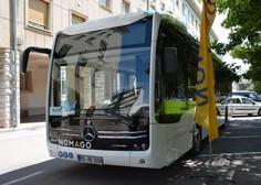 Teden dni bo prevoznik Nomago testiral nov električni avtobus eCitaro
