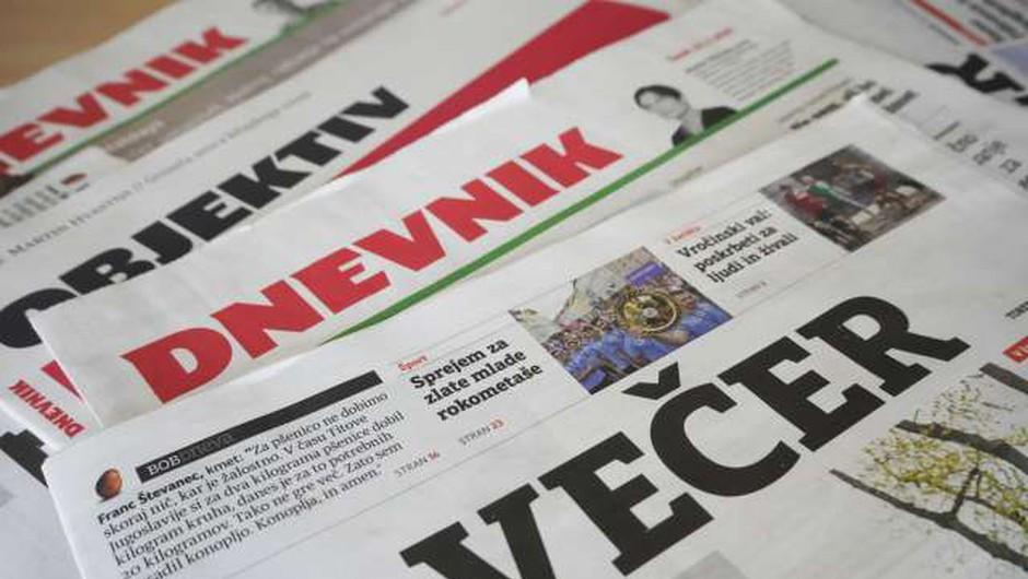 AVK naj bi zaradi suma neprijavljene koncentracije preiskovala Delo, Dnevnik in Večer (foto: STA)