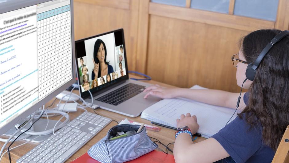 Raziskava: Učenje na daljavo zahtevnejše, a uspešno (foto: Profimedia)