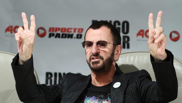 Ringo Starr še pri 80 verjame v mir in ljubezen (foto: Shutterstock)