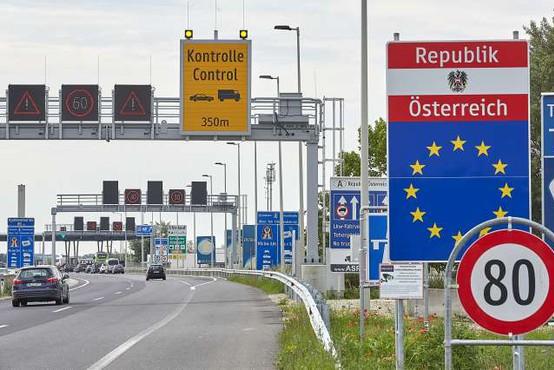 Avstrija zaostrila nadzor na mejah s Slovenijo in Madžarsko