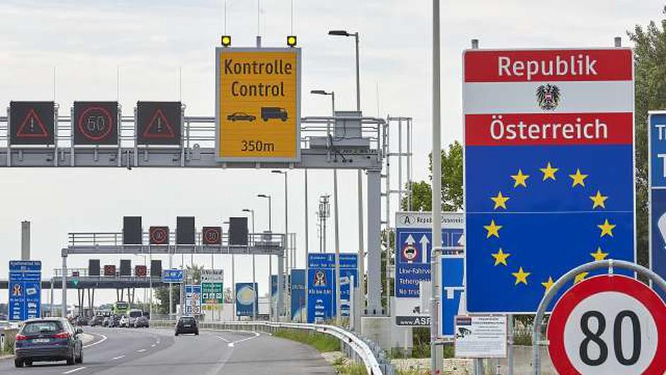 Avstrija zaostrila nadzor na mejah s Slovenijo in Madžarsko (foto: Xinhua/STA)