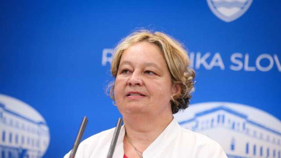 Mateja Logar: O ruskem cepivu ni veliko znanega ne glede mehanizma ne varnosti (foto: Anže Malovrh/STA)