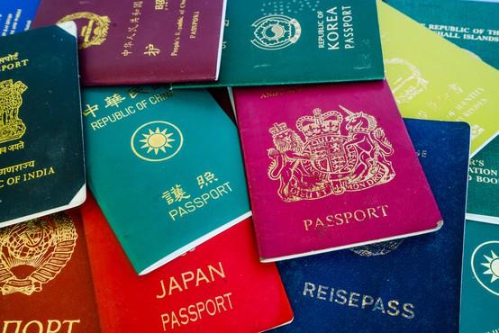 Japonski potni list najboljši za potovanja, slovenski na 12. mestu