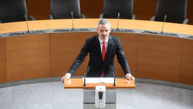 DZ s predlogom interventnega zakona za pripravo na drugi val epidemije covida-19 (foto: Nebojša Tejić/STA)