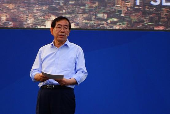 Župana Seula našli mrtvega