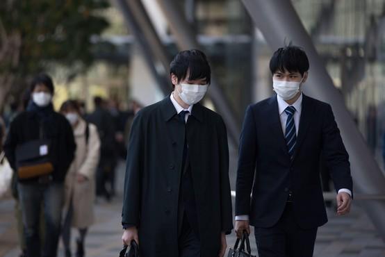 Na Japonskem največji dnevni porast okužb od začetka epidemije