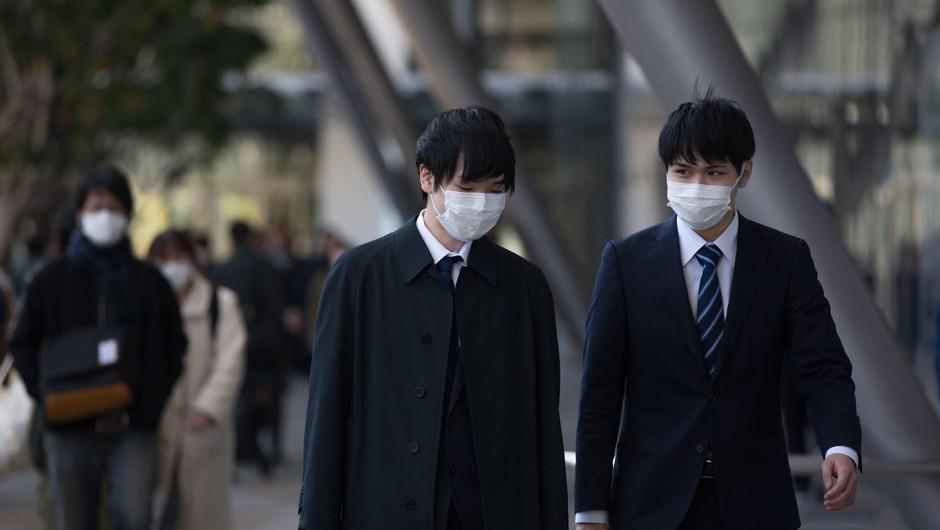 Na Japonskem največji dnevni porast okužb od začetka epidemije (foto: Profimedia)