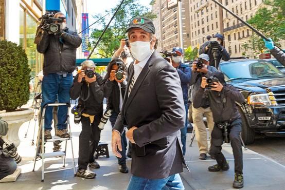 Nekdanji Trumpov odvetnik Michael Cohen ni pristal na pogoje za hišni pripor in se bo vrnil za rešetke