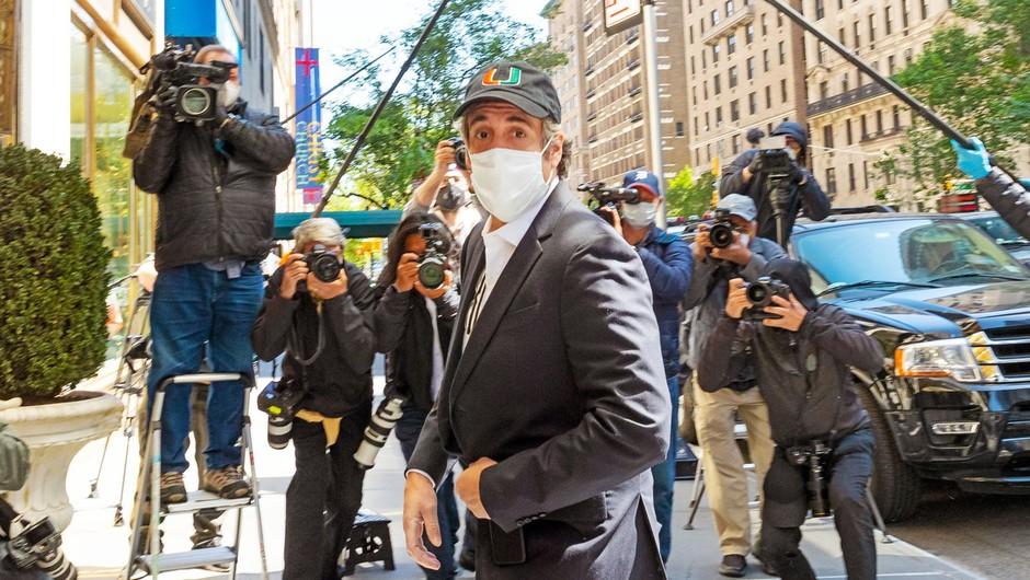 Nekdanji Trumpov odvetnik Michael Cohen ni pristal na pogoje za hišni pripor in se bo vrnil za rešetke (foto: profimedia)