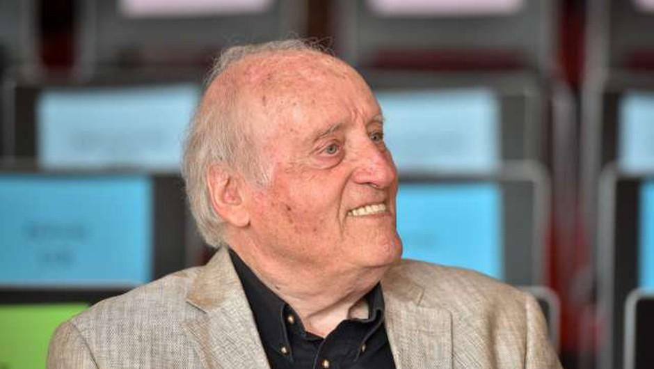 Maestro slovenske zabavne glasbe Mojmir Sepe danes praznuje 90. rojstni dan (foto: STA/Nebojša Tejić)