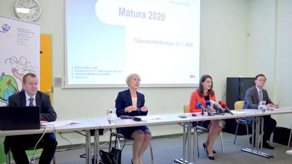 Letošnje ocene na maturi kljub epidemiji primerljive s preteklimi leti (foto: Tamino Petelinšek/STA)