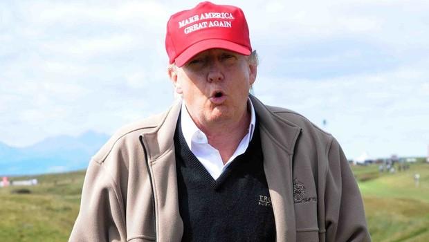 Je Trumpova krilatica 'Najprej Amerika' izposojena od Ku Klux Klana? Preverjamo! (foto: profimedia)