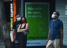 Rekordno število dnevnih okužb v Braziliji, slabo se piše tudi okoliškim državam
