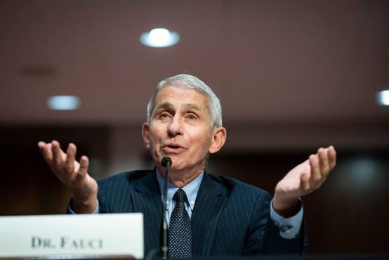 Anthony Fauci: Imamo izjemno dobro novico o cepivu proti koronavirusu