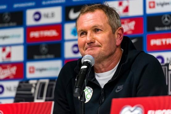 Matjaž Kek ostaja selektor slovenske nogometne reprezentance