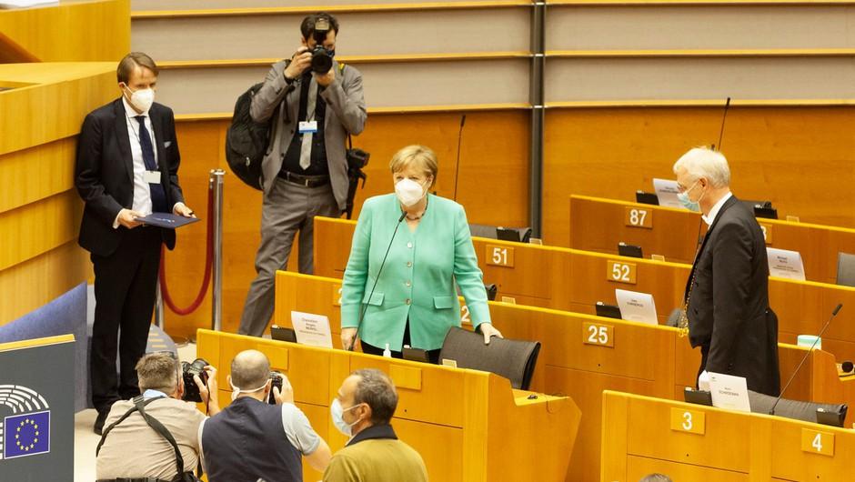 Začetek razprave o svežnju. ki vključuje sedemletni proračun EU in sklad za okrevanje (foto: profimedia)