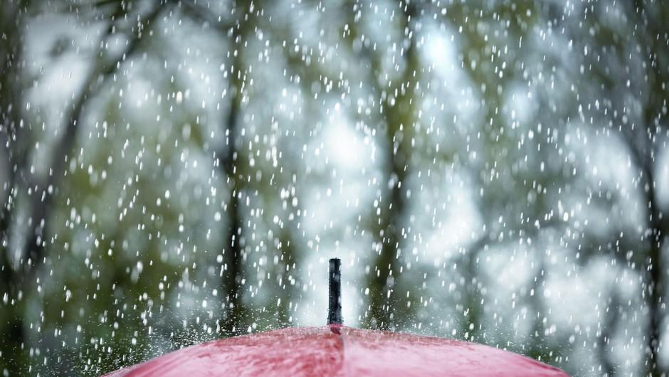 Ponoči bodo padavine prehodno zajele večji del države (foto: Profimedia)