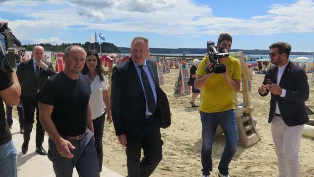 Zdravko Počivalšek: Kriza zaradi covida-19 je lahko tudi priložnost za slovenski turizem (foto: Mitja Volčanšek/STA)