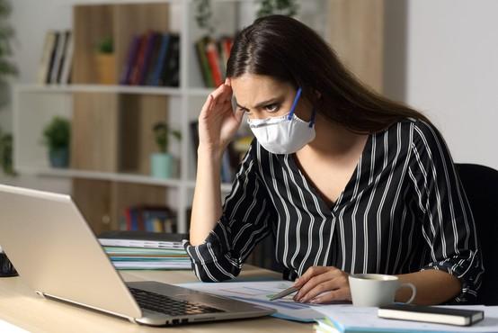 Zaskrbljenost zaradi koronavirusa je v Sloveniji v porastu