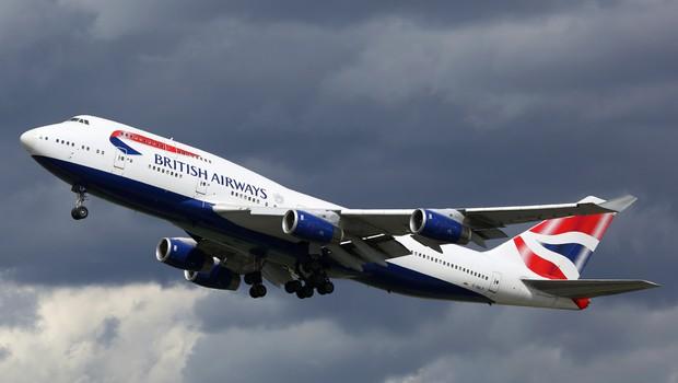 British Airways bo iz uporabe umaknil celotno floto jumbo jetov (foto: Shutterstock)
