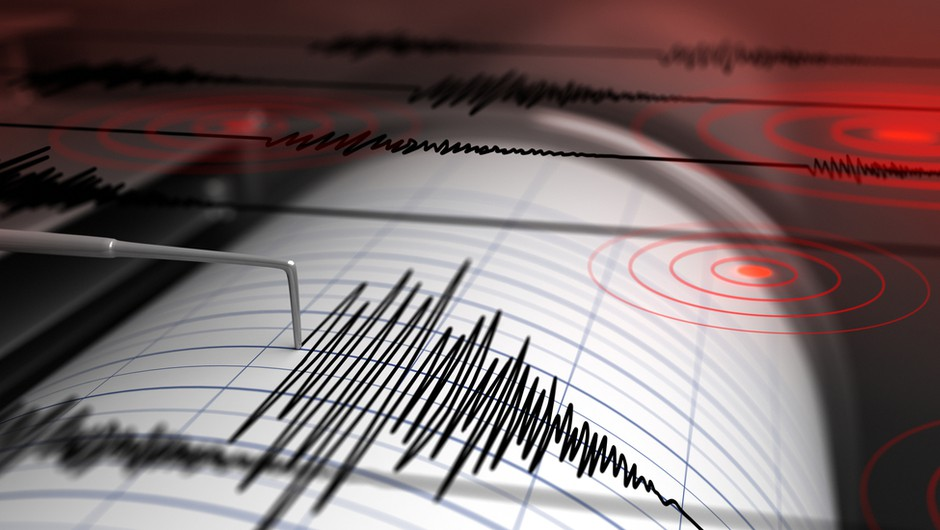 Zmeren potresni sunek v Kobaridu (foto: Shutterstock)