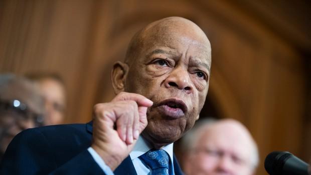 """Poslovil se je kongresnik John Lewis, eden """"velikih šestih"""" vodij za državljanske pravice (foto: profimedia)"""