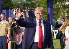 Trump kljub slabi epidemiološki sliki trmasto vztraja, da ne bo ukazal obvezne uporabe mask