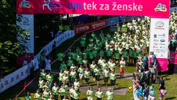 15. dm tek za ženske prestavljen na leto 2021 (foto: Anže Malovrh/STA)