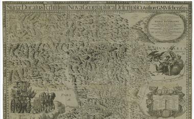 Preveliko Cerkniško jezero je vse do Valvasorja strašilo po mnogih zemljevidih
