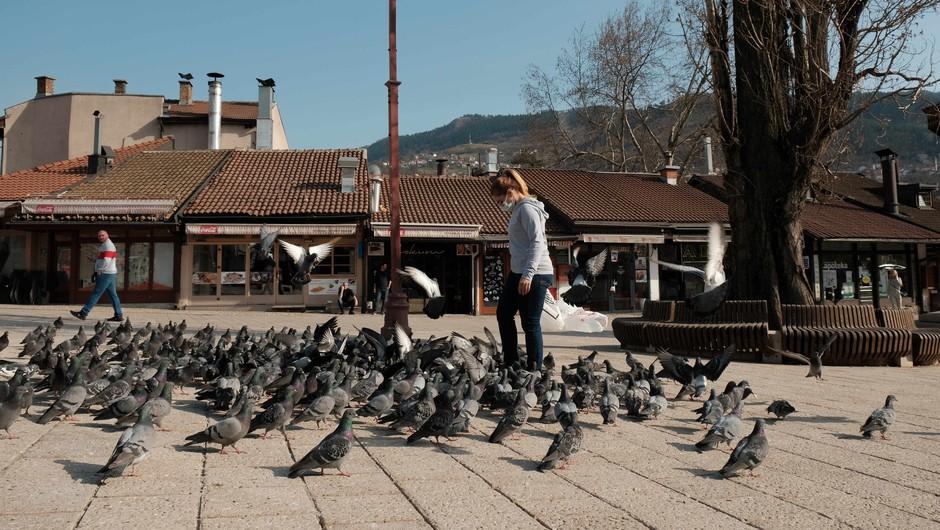 V Bosni in Hercegovini so v zadnjih 24 urah potrdili 324 novih okužb (foto: Profimedia)
