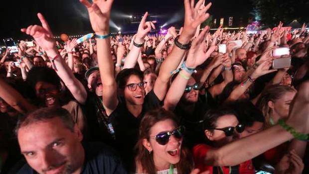 Na Hrvaškem bo dovoljeno organizirati glasbene prireditve na prostem za 1000 obiskovalcev (foto: Hina/STA)