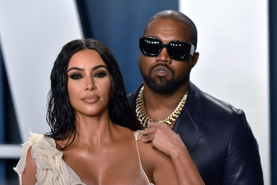 Kanye West se želi ločiti od Kim Kardashian
