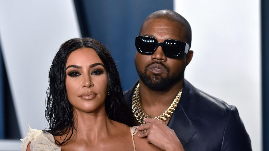 Kanye West se želi ločiti od Kim Kardashian (foto: Profimedia)
