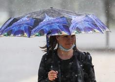 V notranjosti Slovenije bo popoldan nastalo nekaj neviht
