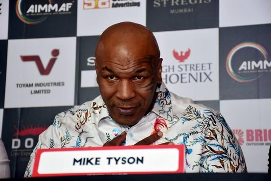 Mike Tyson se septembra vrača v boksarski ring