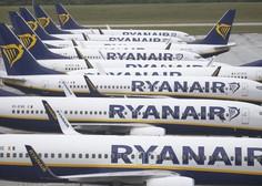 Ryanair zaradi posledic novega koronavirusa s 185-milijonsko izgubo