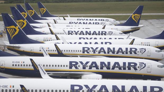 Ryanair zaradi posledic novega koronavirusa s 185-milijonsko izgubo (foto: profimedia)