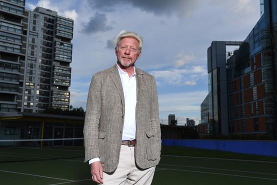 Boris Becker, nekoč kralj teniških igrišč, dolguje 61 milijonov evrov