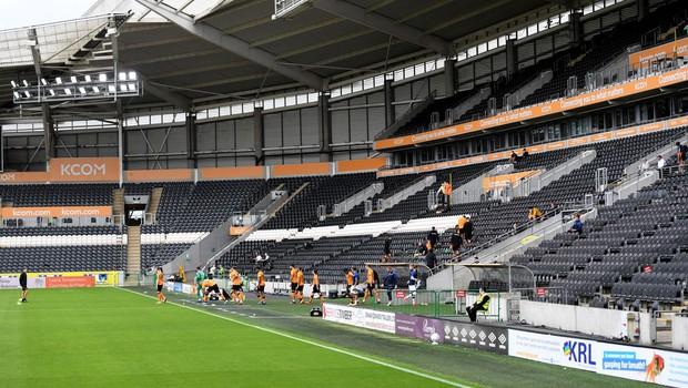Nova nogometna sezona v Angliji zelo verjetno z omejitvami za gledalce (foto: profimedia)