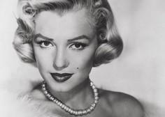 Avgusta na dražbo biserna ogrlica in pismo Marilyn Monroe